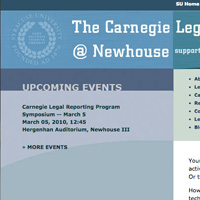 The Carnegie Legal Reporting Program at Newhouse